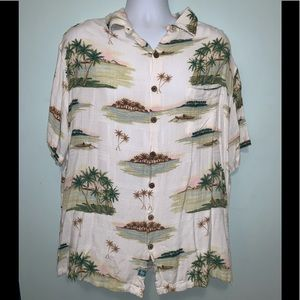 Men's 2XB Caribbean Camp Shirt 100% Rayon